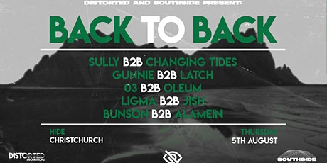 Distorted & Southside Presents: Back to Back tickets