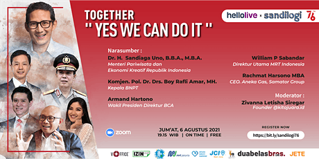 """Together """"Yes We Can Do It"""" tickets"""