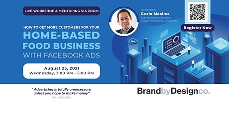 Get More Customers For Your Home-Based Food Business with Facebook Ads tickets