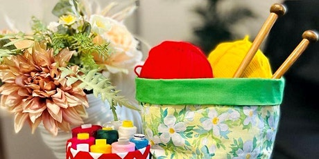 MAKE YOUR OWN FABRIC BASKET tickets
