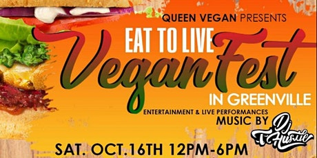 Eat To Live VeganFest Greenville tickets