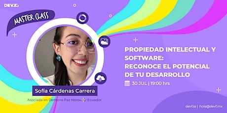 """""""Propiedad Intelectual y Software: Reconoce el Potencial de tu Desarrollo"""" entradas"""