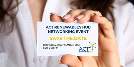 ACT Renewables Hub Networking tickets