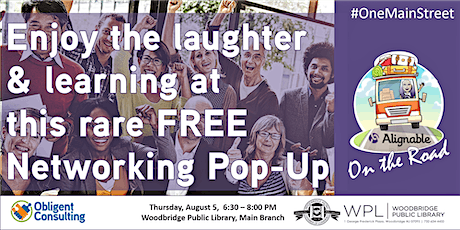 Enjoy the laughter & learning at this rare FREE Networking Pop-Up tickets