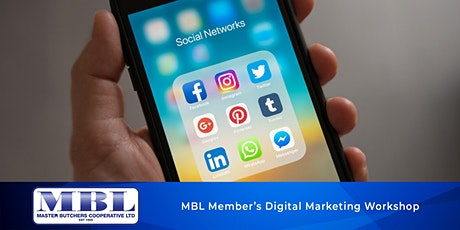 MBL Member's Only Digital Marketing Interactive Workshop tickets