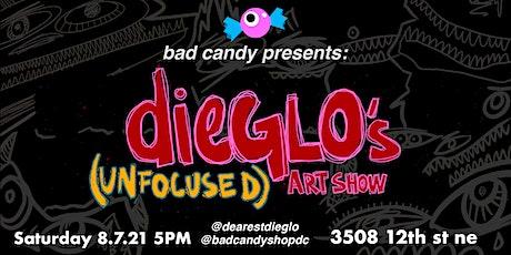 dieGLO's Unfocused Art Show - A DC Art Exhibition tickets