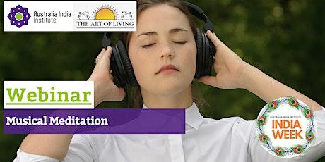 Musical Meditation tickets