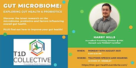 Gut Microbiome: Exploring Gut Health & Probiotics tickets