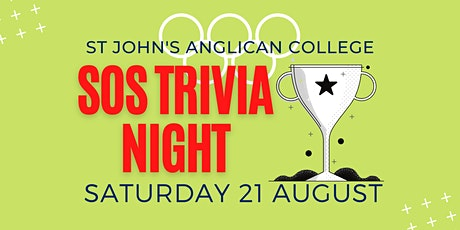 Supporters of Sport (SOS) Trivia Night tickets
