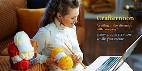Crafternoon Fridays | Live Online tickets