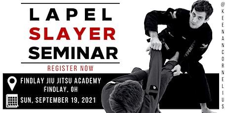 Keenan Cornelius Seminar   Findlay Jiu Jitsu Academy   Findlay, OH tickets