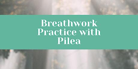 Breathwork Practice with Pilea tickets