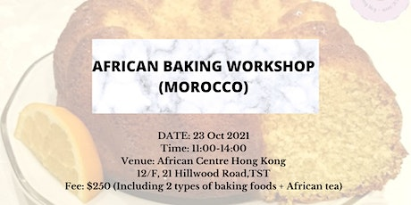 African Baking Workshop (Morocco) tickets