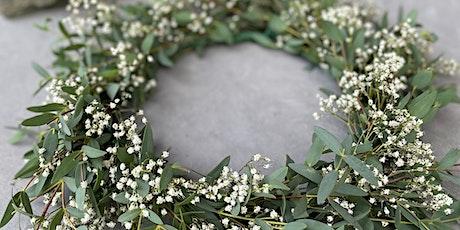 Eucalyptus & Baby's Breath Flower Halo tickets