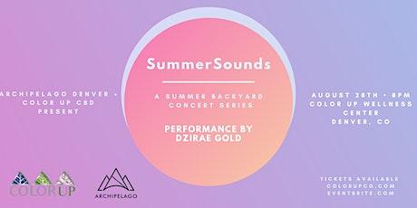 SummerSounds feat. DZIRAE GOLD tickets