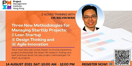 Three New Methodologies for Managing StartUp Projects tickets