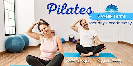 Pilates 6 Week Term: Monday or Wednesday tickets