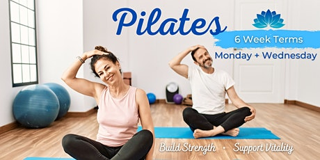 Pilates 6 Week Term: Strong, Stable & Connected (Wednesdays) tickets