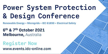 Power System Protection & Design Conference Melbourne (Hybrid) tickets