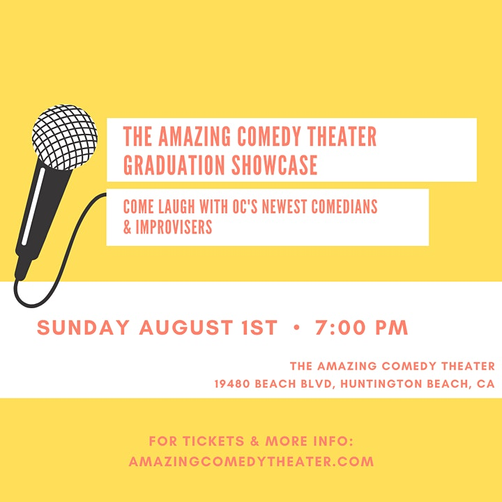 The Amazing Comedy Theater's Comedy Graduation Show image