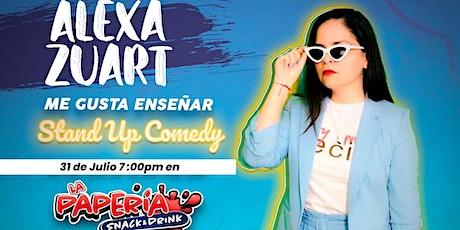 Alexa Zuart   Stand Up Comedy   Tepic entradas