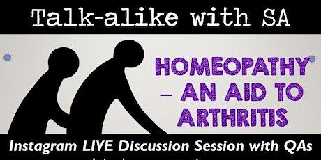 Homeopathy - An Aid to Arthritis tickets