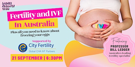 The cost and process of IVF in Australia tickets