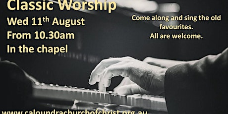 Classic Worship August tickets