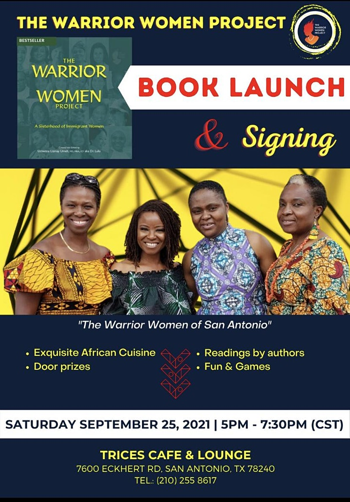 Warrior Women Project -- Book Launch and Signing image