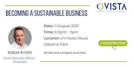 Becoming a sustainable business tickets