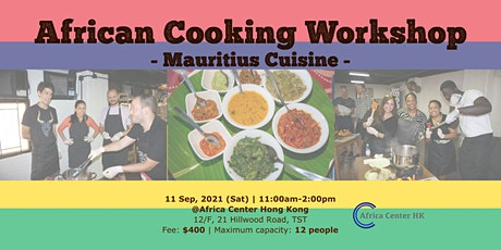 African Cooking Workshop -Mauritius Cuisine- tickets