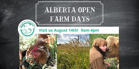 Open Farm Days - Happiness By The Acre tickets