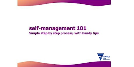 Self-Management 101: Step By Step process with Handy Tips - CRCC tickets