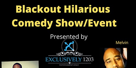 Blackout hilarious comedy show event tickets