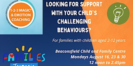 123 Magic and Emotion Coaching BEACONSFIELD CFC 16, 23 & 30 August tickets