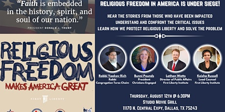 Religious Freedom Makes America Great! The Facts, The Stories, The Reality! tickets