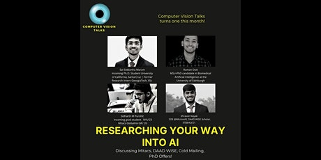 Researching your way into AI - Discussing opportunities during undergrad! tickets