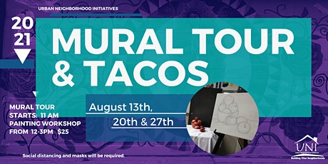 Murals and Tacos tickets