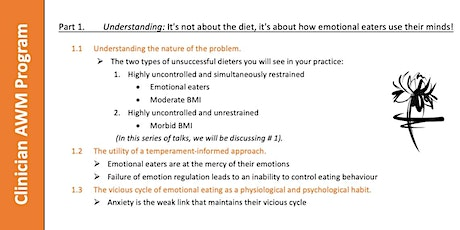 It's not about the diet. It's about how emotional eaters use their minds! tickets