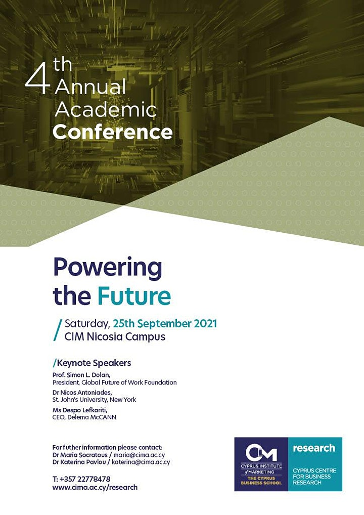 4th Annual Academic Conference: Powering the Future image