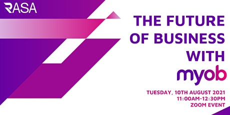 The Future of Business with MYOB tickets
