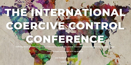 The International Coercive Control Conference 2021 tickets