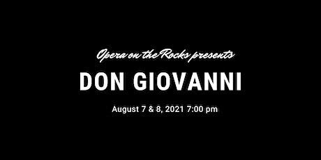 Opera on the Rocks presents: Mozart's DON GIOVANNI tickets