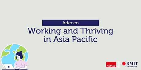 Adecco: Working and Thriving in Asia Pacific tickets