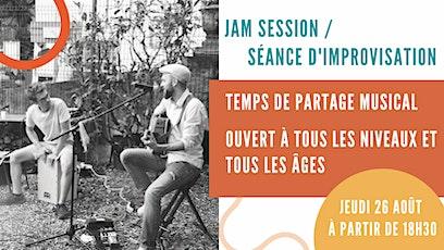Jam session / Séance d'improvisation billets