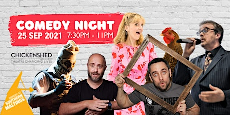 Charity Comedy night in aid of Chicken Shed and the Southern Maltings tickets