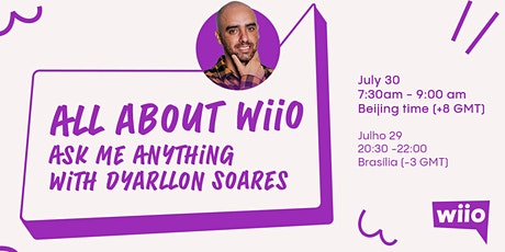 Wiio's  A.M.A  (ask me anything ) com Dyarllon Soares ingressos