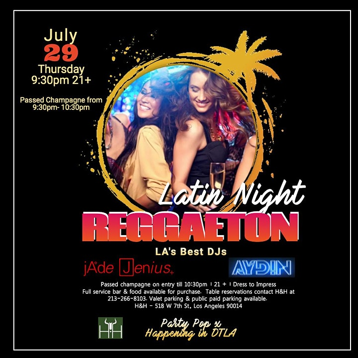 REGGAETON & Latin Vibes club/lounge - Downtown Los Angeles image