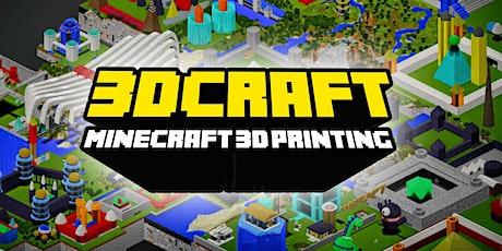 FabLabKids: 3DCraft - modelliere und drucke Minecraft in 3D Tickets