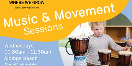 Stay & Play at Aldinga | Music and Movement Play Sessions tickets